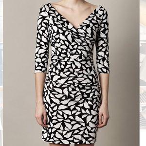 DVF Bentley Silk Jersey Mini Dress